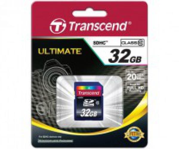 Thẻ Nhớ Transcend SDHC 32Gb Class 10