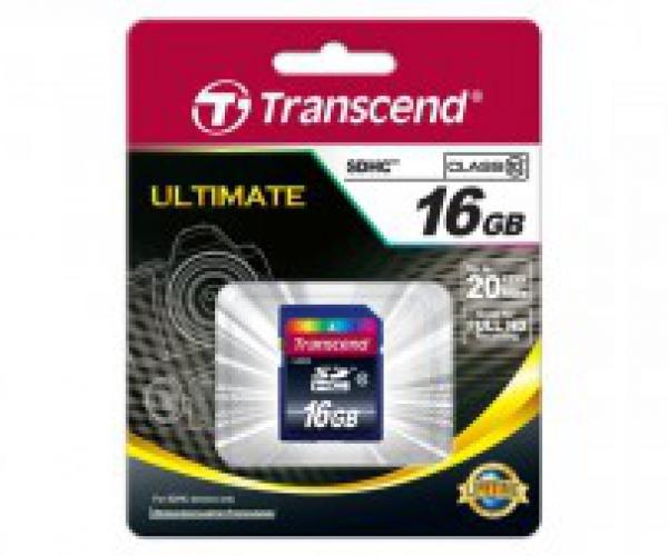 Thẻ Nhớ Transcend SDHC 16Gb Class 10