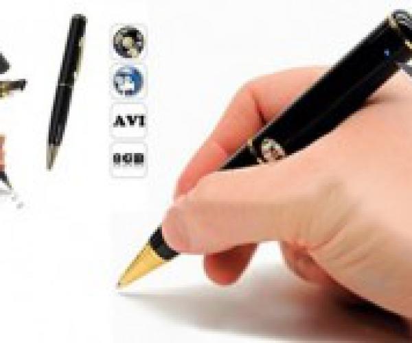 Bút Quay Camera Mini Giúp Bạn Lưu Lại Những Khoảnh Khắc Đáng Nhớ