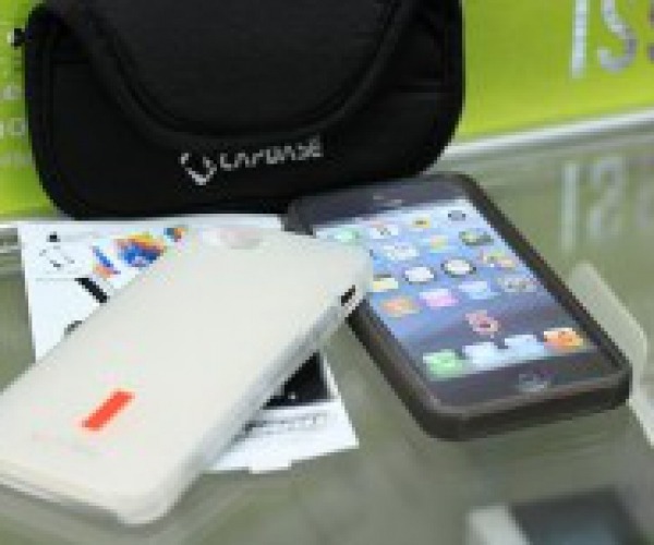 Ốp Lưng Silicon + Dán Màn Hình + Túi Đựng Iphone 5