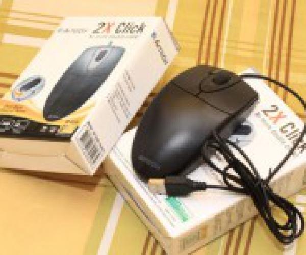 Chuột quang USB A4Tech 2x Click Chất Lượng