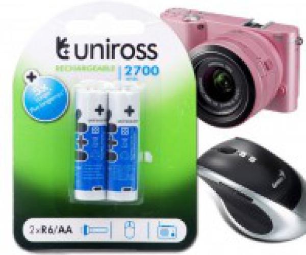 Pin Sạc AA Uniross 2700