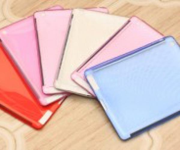 Ốp lưng Silicon cao cấp cho Ipad, Ipad 2, Ipad 3, Ipad 4