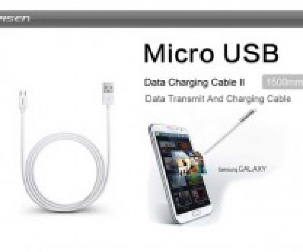 Cáp Micro USB Pisen 1500mm Cho Smartphone Samsung Sony HTC Nokia