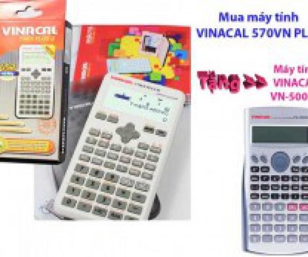 Mua Máy Tính VinaCal 570ES Plus II Tặng VinaCal Vn-5000MS