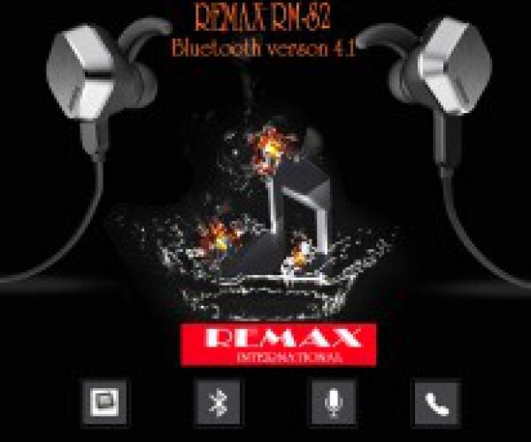 Tai Nghe Bluetooth Remax RM-S2 Chính Hãng Công Nghệ Mới