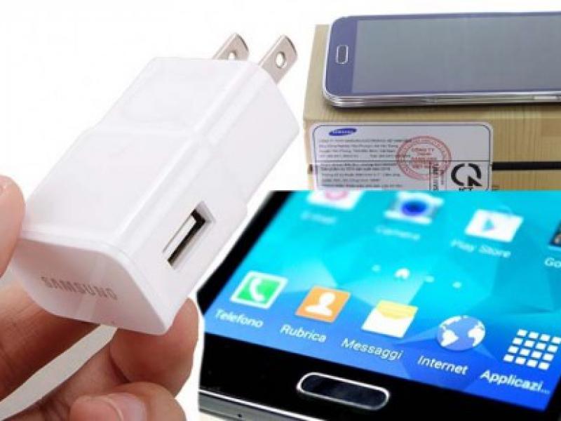 Cóc Adapter Sạc Cổng USB Cho Samsung, Điện Thoại, HTC, LG...