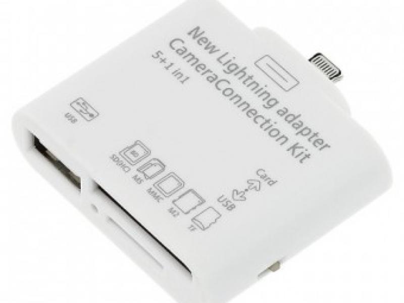 Đầu Đọc Thẻ Nhớ Và Cổng USB Cho Cho iPad4 iPad Mini