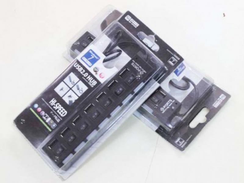Bộ chia USB HUB Điện 2.0 7 cổng tiện dụng