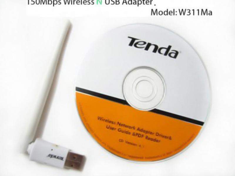 USB Thu Phát Sóng Wifi Tenda W311Ma