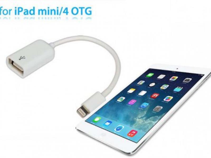 Cáp Lightning USB OTG Cho iPad 4, iPad Mini, iPhone 5