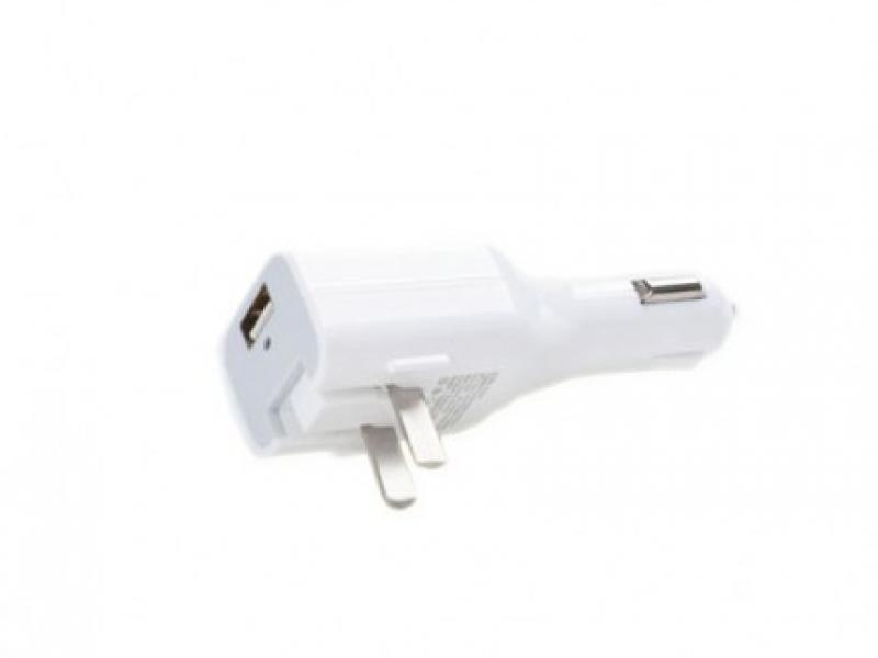 Cóc Sạc ô tô - Điện Nhà Pisen USB Car Charger Combo