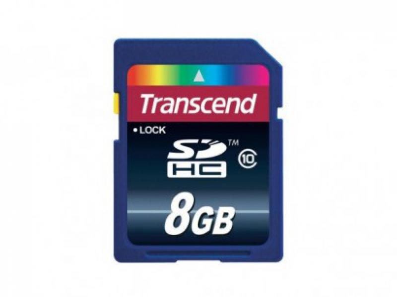 Thẻ Nhớ Transcend SDHC 8Gb Class 10
