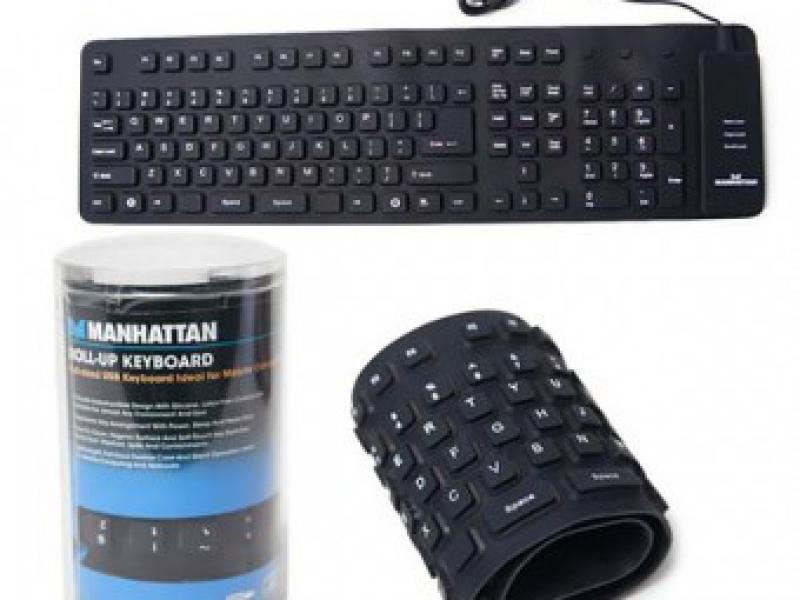 Bàn phím cuộn USB Silicon Tiện Dụng Mọi Lúc Mọi Nơi