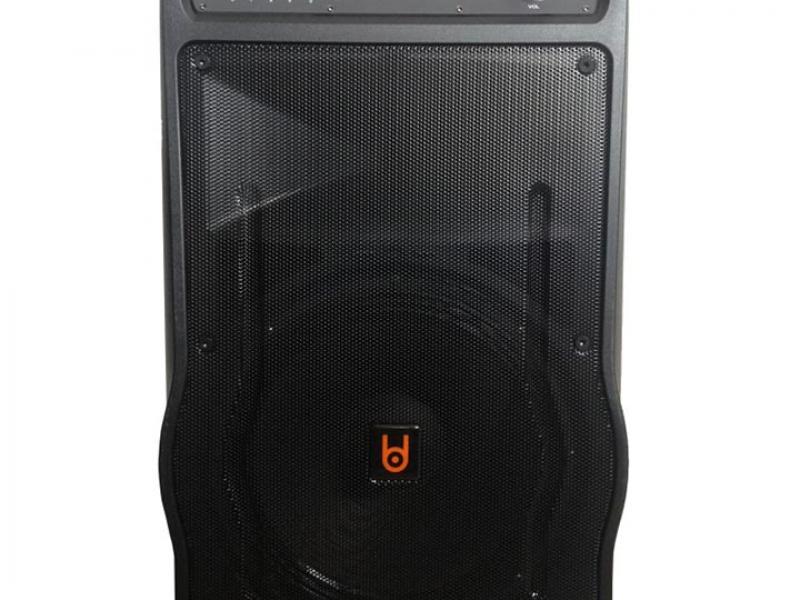 Loa kéo BD-H1568Y USB TF Bluetooth 2Mic Tiện Dụng