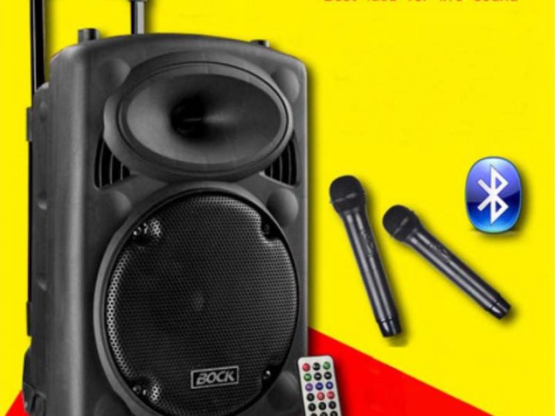 LOA KÉO BOCK BNS 2312A USB-SD-BT-FM 2 MICRO