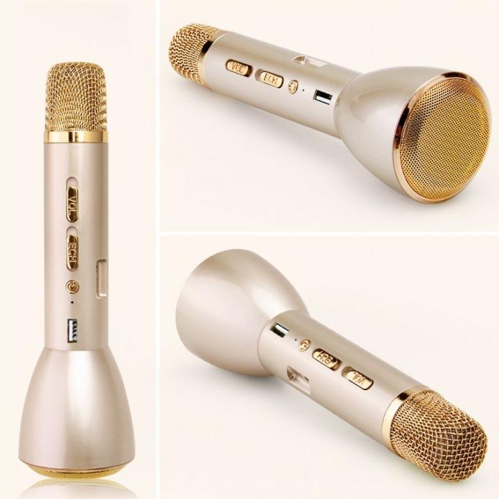 Micro Loa Karaoke Bluetooth K088 Cho Smartphone